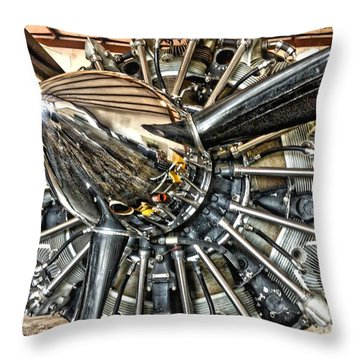 Radial Throw Pillow