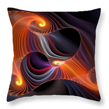 Rainbow Symphony-2 Throw Pillow