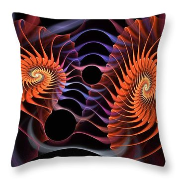 Rainbow Velcro Throw Pillow