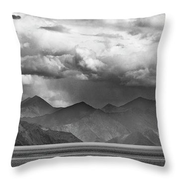 Throw Pillow featuring the photograph Rains In China by Whitney Goodey