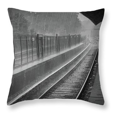 Rainy Days And Metro Throw Pillow