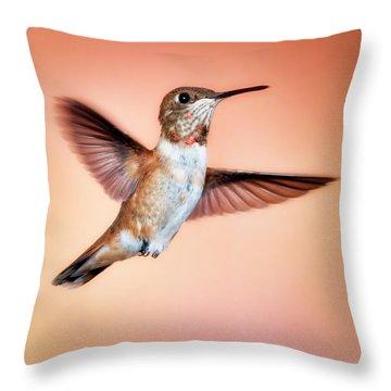 Rambunctious Rufous Throw Pillow
