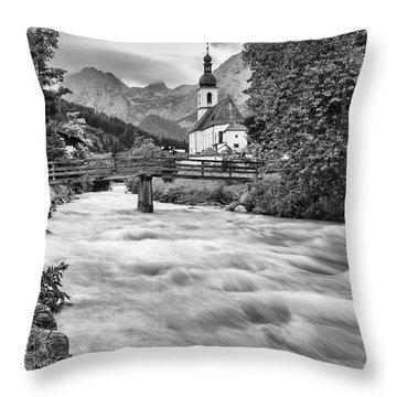 Ramsau, Bavaria Throw Pillow