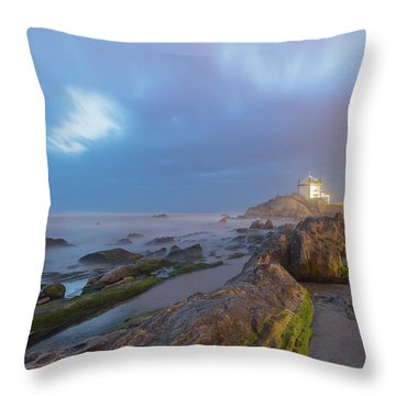 Throw Pillow featuring the photograph Ray Of Light by Bruno Rosa