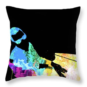 Ray Watercolor II Throw Pillow
