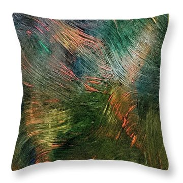 Reaching For The Sword Throw Pillow