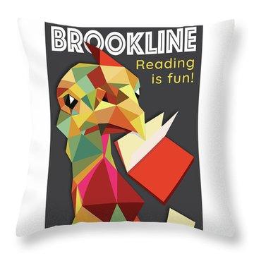 Reading Is Fun Throw Pillow