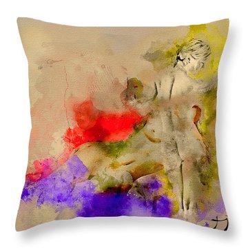 Recess Of A Dream Throw Pillow