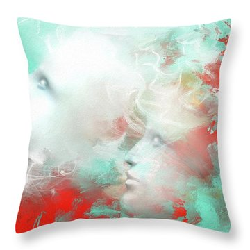 Reconnect Throw Pillow