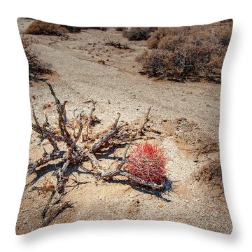Red Barrel Cactus Throw Pillow