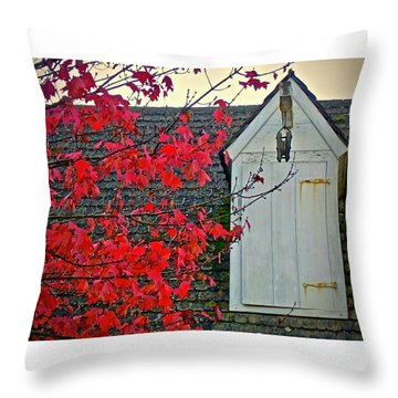 Red... Throw Pillow