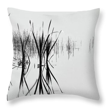 Reed Reflection Throw Pillow