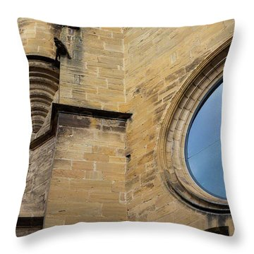 Reflection, Sarlat, France Throw Pillow