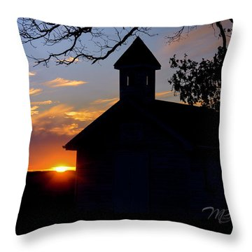 Reflections Of God Throw Pillow