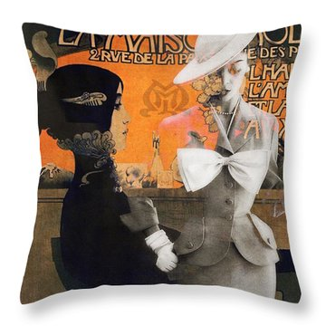 Reflections Of My Life - Digital Throw Pillow