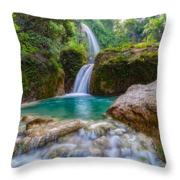 Throw Pillow featuring the photograph Refreshed by Russell Pugh