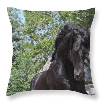 Regal Power Throw Pillow