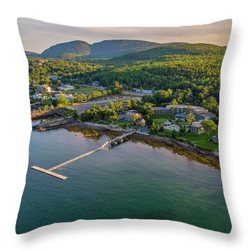 Throw Pillow featuring the photograph Regent Views by Michael Hughes