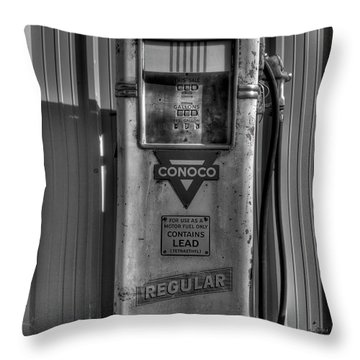 Regular Please - Bw Throw Pillow