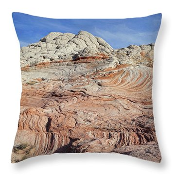 Throw Pillow featuring the photograph Remnants Of A Distant Past by Theo O'Connor