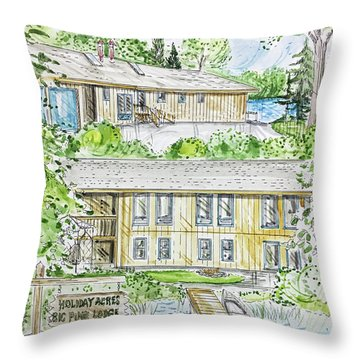 Rendering Sample H-37 Throw Pillow