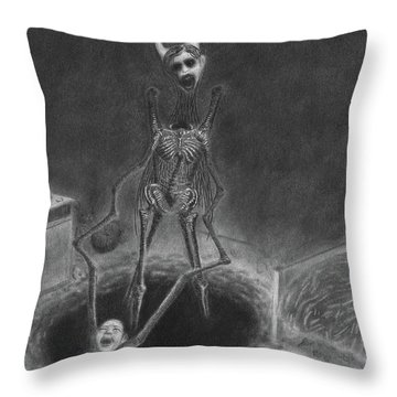 Resolution - Artwork Throw Pillow