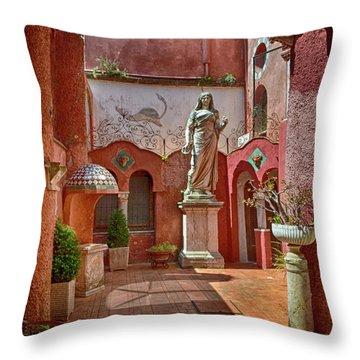 Resplendent Italy Throw Pillow