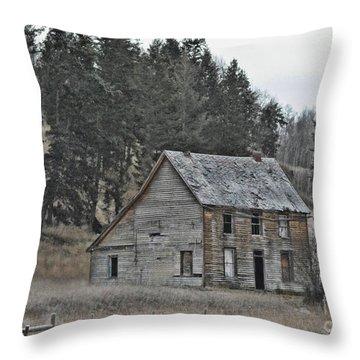 Rest Stop Throw Pillow