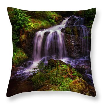 Retreat For Soul. Rest And Be Thankful. Scotland Throw Pillow