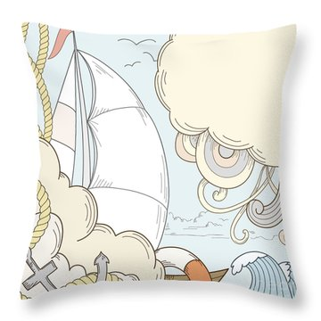 Float Throw Pillows