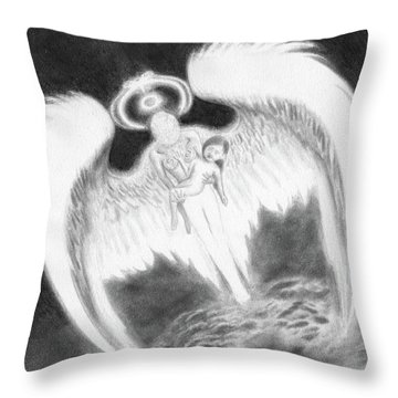 Reunited - Artwork  Throw Pillow