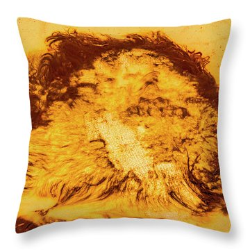 Rhapsody In Yellow Throw Pillow