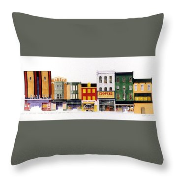 Rialto Theater Throw Pillow