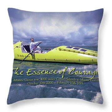 Richard Jones Row 2 Throw Pillow