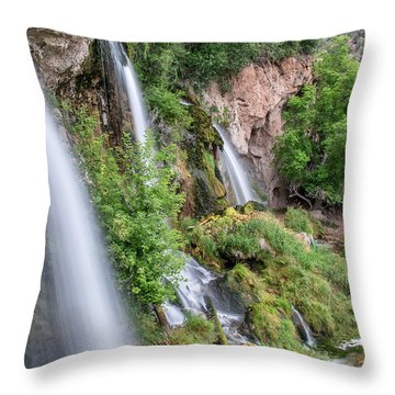Rifle Falls Throw Pillow