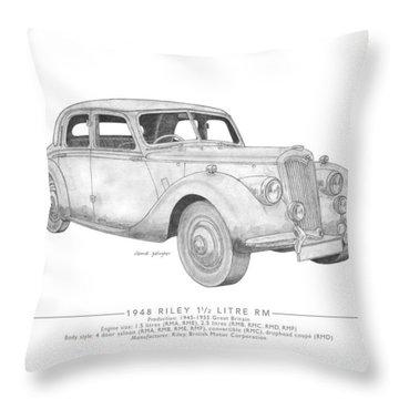 Riley 1.5 Litre Rm Saloon Throw Pillow