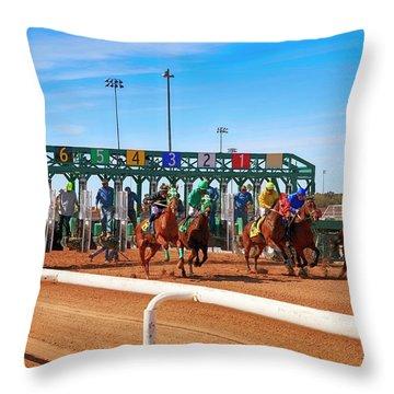 Rillito Park, Tucson Az Throw Pillow