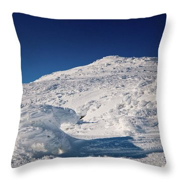 Rime And Snow, And Mountain Trolls. Throw Pillow