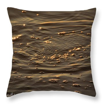 Throw Pillow featuring the photograph Ripple by Buddy Scott
