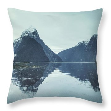 Rise From The Sea Throw Pillow