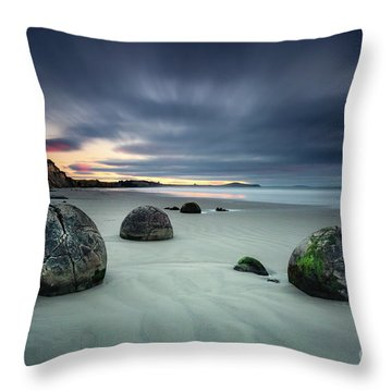 Rise Of The Giants Throw Pillow