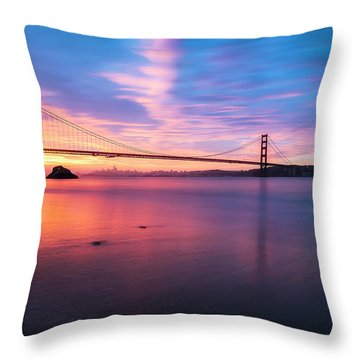 Rise With Me- Throw Pillow