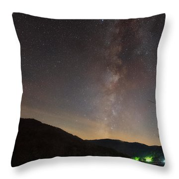 Throw Pillow featuring the photograph Risen by Russell Pugh