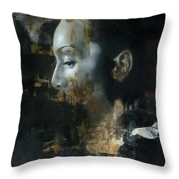 Rite Of Saturn Throw Pillow