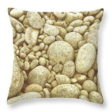 River Carpet Throw Pillow
