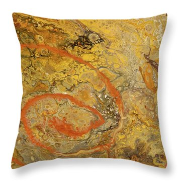 Riverbed Stone Throw Pillow
