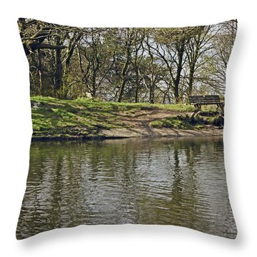 Rivington  Japanese Pool Bench. Throw Pillow