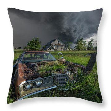 Road's End  Throw Pillow