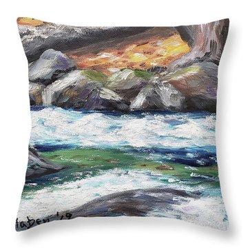 Roaring Brook Throw Pillow