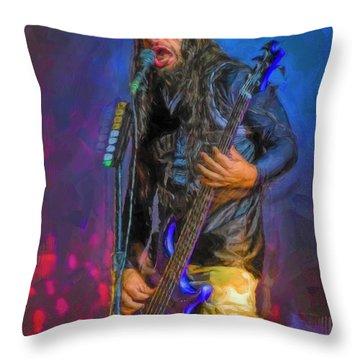 Robert Trujillo Throw Pillow